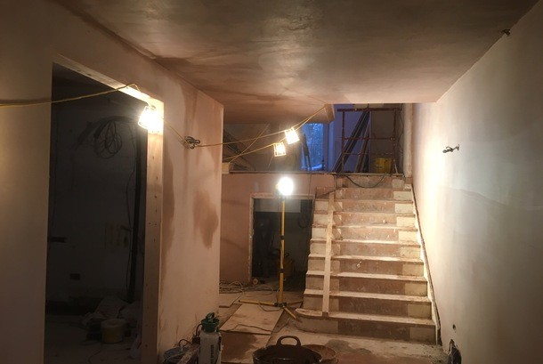 Commercial plastering in London